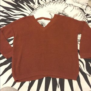 Forever 21 sweater w/ back cut out